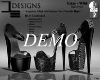 DE Designs  - Lizzy Heels - Wild - DEMO