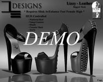 DE Designs  - Lizzy Heels - Leather - DEMO
