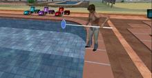 Pool Skimmer Animated Clean the Pool