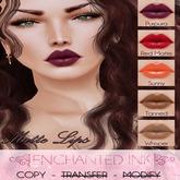 ::Enchanted Ink:: [Matte Lips] - Pack2