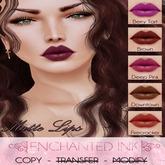 ::Enchanted Ink:: [Matte Lips] - Pack1