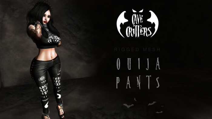 .:CAVE CRITTERS:. - FEMALE OUIJA PANTS