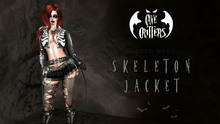 .:CAVE CRITTERS:. - FEMALE SKELETON JACKET