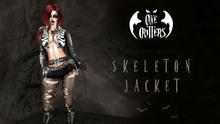 .:CAVE CRITTERS:. - FEMALE SKELETON JACKET