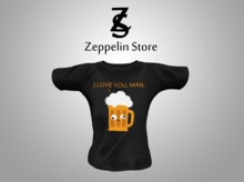 - Shirt - I Love You, Man - Zeppelin Store -