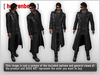 Mesh leather trenchcoat   views 02