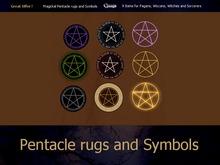 Gaagii - Pentacle Rugs and Symbols ((BOXED))