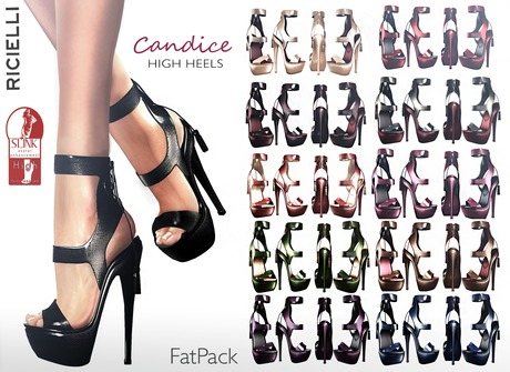 R.icielli - CANDICE Mesh High Heels for Slink/ 26 styles Fatpack PROMOTION!