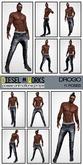Diesel Works - Drogo Male Poses