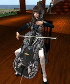 Satoko's Cello Silver Deco