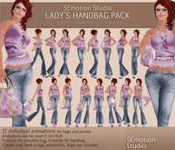 SEmotion Lady's Hand Bag Animations Pack