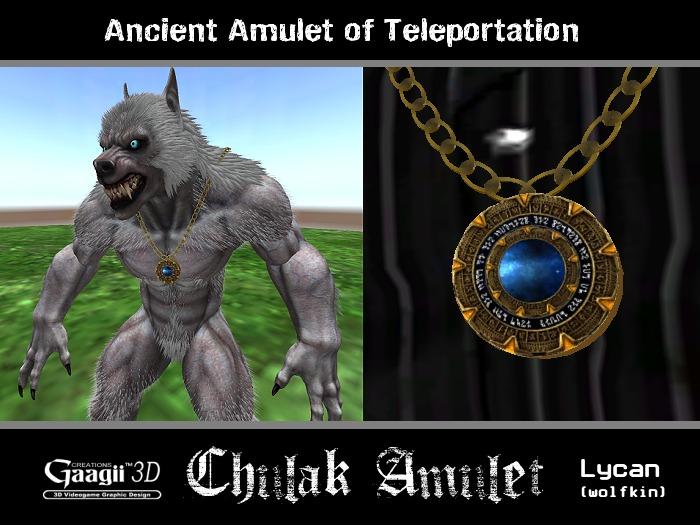 Gaagii - Chulak Amulet (Lycan Wolfkin)