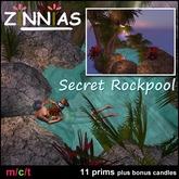 Zinnias~ *Secret Rockpool* Lush Romantic Tropical Pond