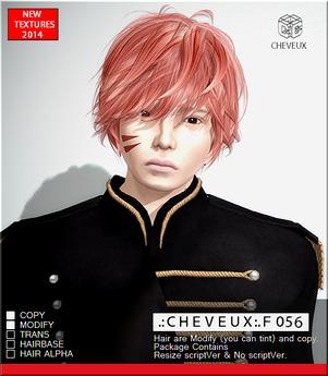 .:CHEVEUX:.F056 BLACKS HAIR SET