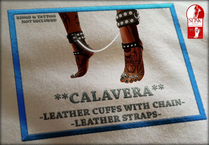 **CALAVERA** *STAR LEATHER SET* (Slink feet female HIGH)