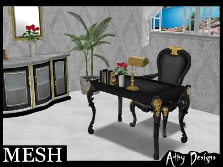 Mesh Executive Desk