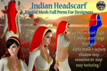 Indian Headscarf demobie - FULL FUNCTIONAL PERSONAL USE VERSION!