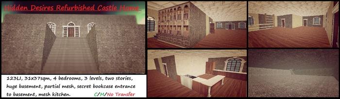 hidden desires refurbished castle home