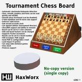 HaxWorx 4282 - tournament chess board