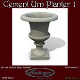 Mesh Cement Urn Planter 1 - Low Impact 1 - Full Permission