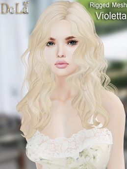 "=DeLa*= Mesh Hair ""Violetta"" Demo"