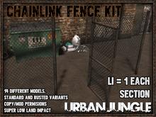 CHAINLINK FENCE KIT - MESH - URBAN JUNGLE