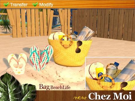 Bag BeachLife ♥ NEW Chez Moi