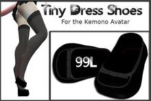 Tiny Dress Shoes for Kemono Avatar