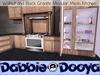 Dabble dooya walnut and black granite kitchen 3