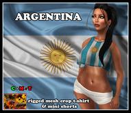 *SA* ARGENTINA OUTFIT  (BAG)