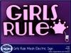 Dabble Dooya Girls Rule Sign