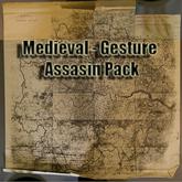 Assasin Pack Gestures
