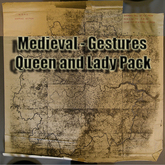 Queen and Lady Pack Gestures