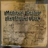 Axe Thrower Pack Gestures