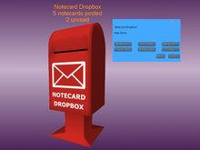 Notecard Dropbox