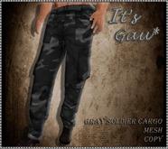 *It's Gau* Gray Soldier Cargo