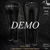 DE Designs - Gloria Leather Pants - DEMO