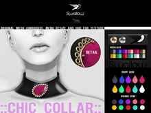 GIFT ^^Swallow^^ Chic collar