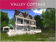 MOCO Emporium ~ Valley Cottage & Accessories Pack V3 [Part Mesh]