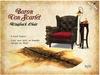 [noctis] Baron Von Scarlet Chair set BOXED