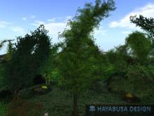Tree with Wind Effect 1 Prim ! - Visual Revolution - Menu to adjust Wind effect - Summer Spring