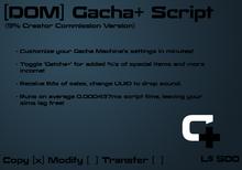 [D0M] Gacha+ Script (5% Creator Commission)