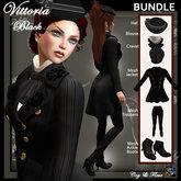 C&F Vittoria - Victorian Outfit BUNDLE - Black