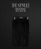 {Fe Style} BLACK Shorts