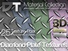 25 Diamond Plate Textures - Full Perm - DT Material Collection