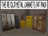 RE Old Metal Cabinet Fat Pack - Grungy Decoration Set