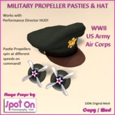 Spot On Military Pasties & Hat - U.S.
