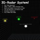 Sim-wide 3D Radar v3.0