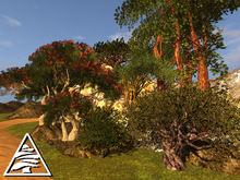 Mixed trees 1 (10 pcs) MODIFY TRANSFER