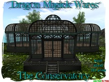 Dragon Magick Wares The Conservatory Mesh Green House